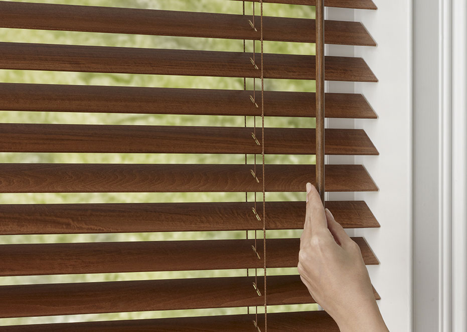 Window Blind Tilters : Window treatment details make a difference blindsgalore